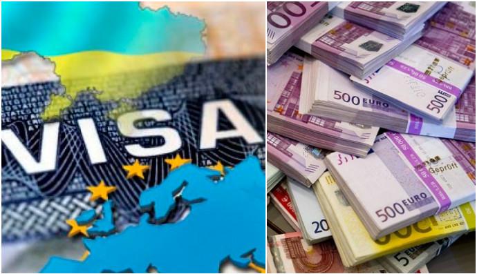 Стоимость разных видов виз