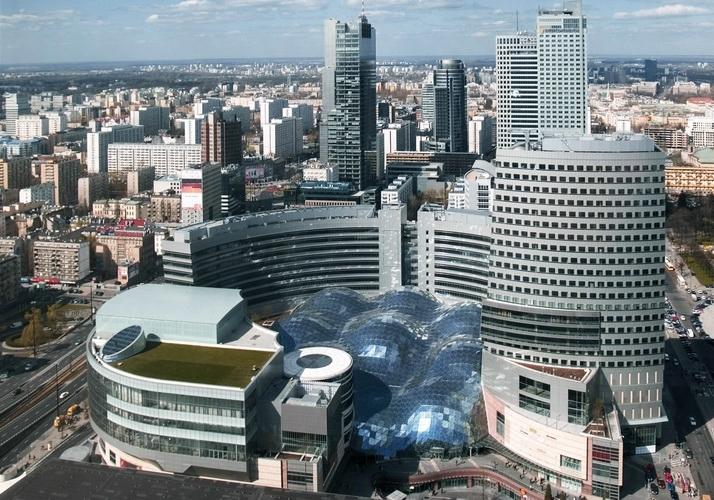 Общая информация про торговые центры Варшавы