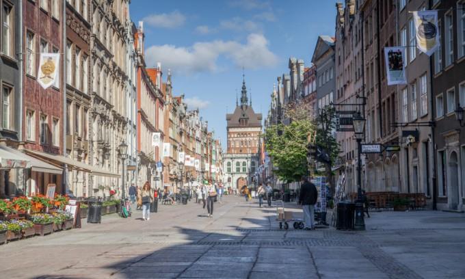 Откуда начать прогулку по Гданьску