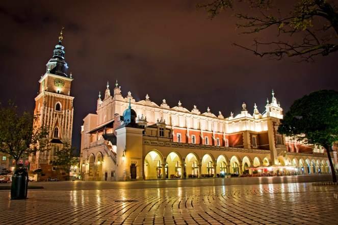 Старый город Краков