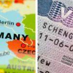 Статус визы в Германию